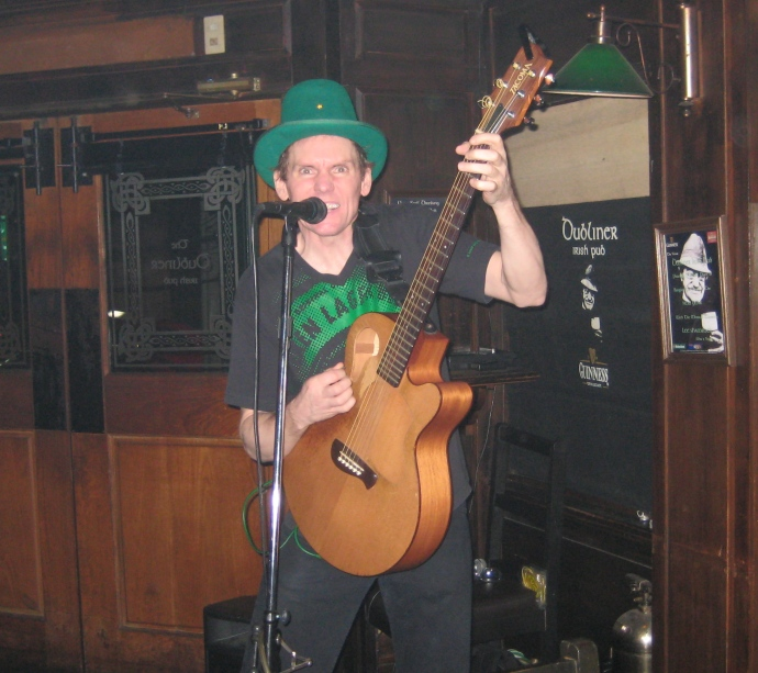 Irish songs in Bangkok