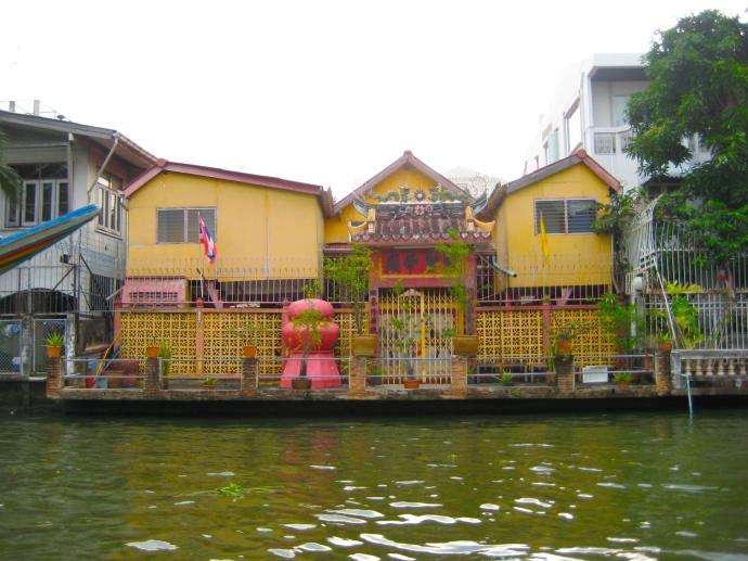 along Khlong Phasi Charoen