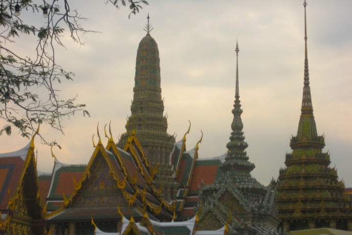 First view of the Grand Palace