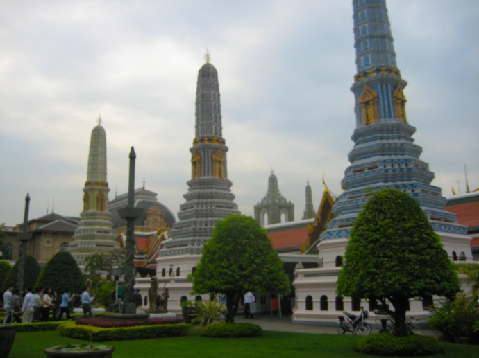 Wats at the Grand Palace