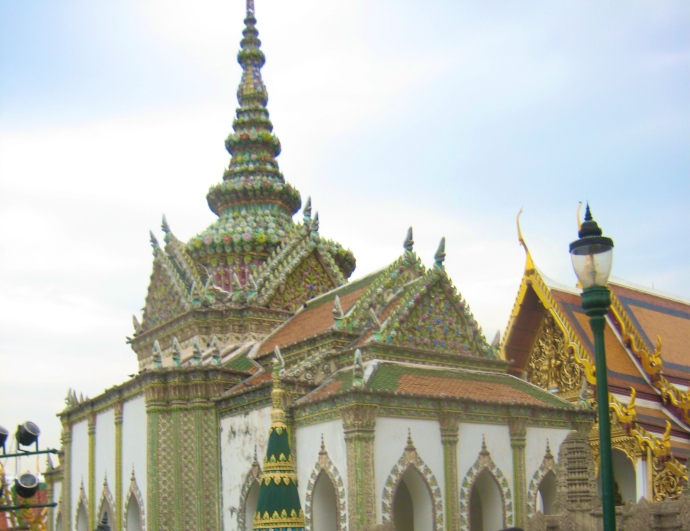At the Grand Palace in Bangkok