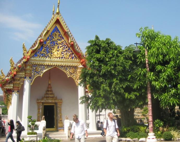 at Wat Pho