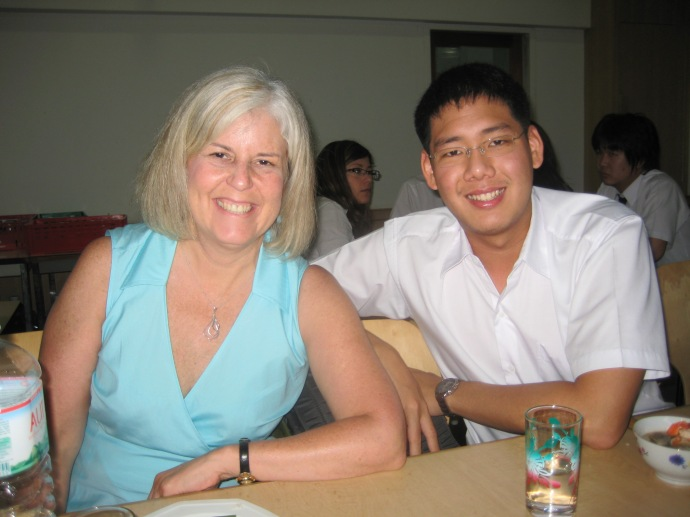 me with a student from Chulalongkorn University