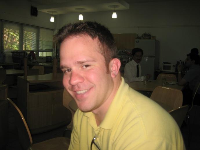 Ryan at Chulalongkorn University