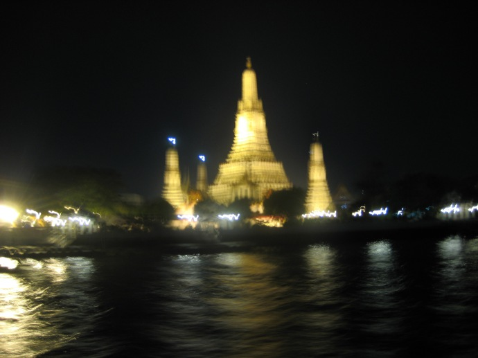 Wat Arun, also known as the Temple of Dawn