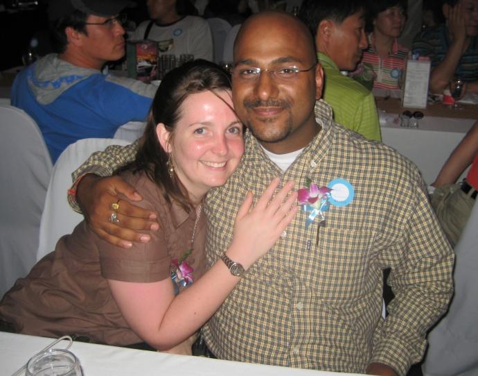 Sarah and Jitesh