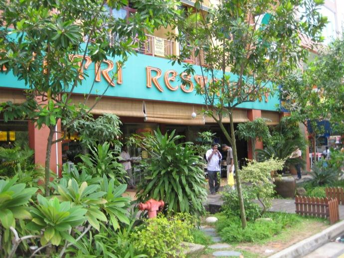 the wonderful restaurant in Little India