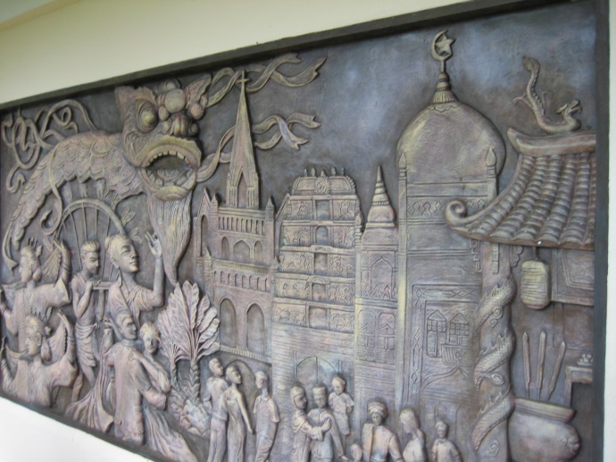 Mural at Mount Faber Park