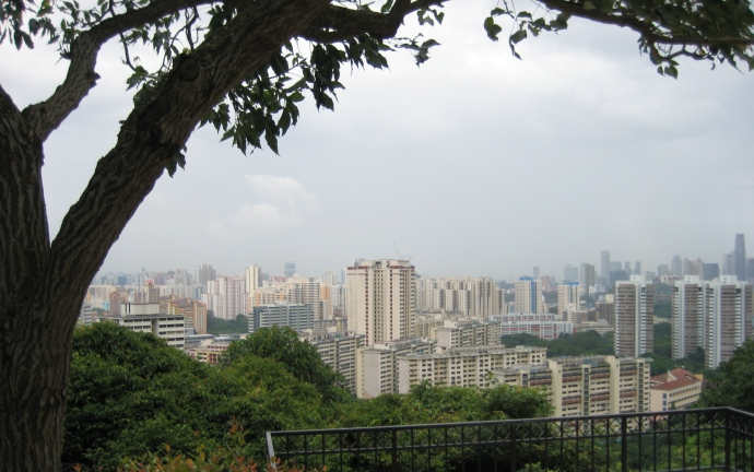 SINGAPORE: View from Mt. Faber Park