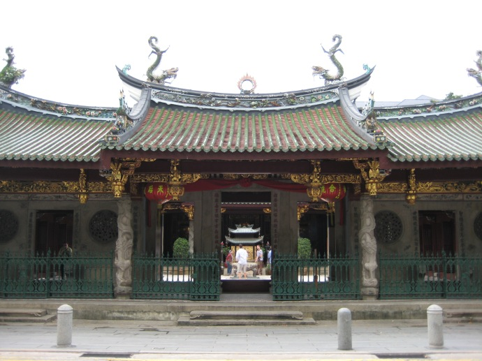 entrance to Thian Hock Keng Temple
