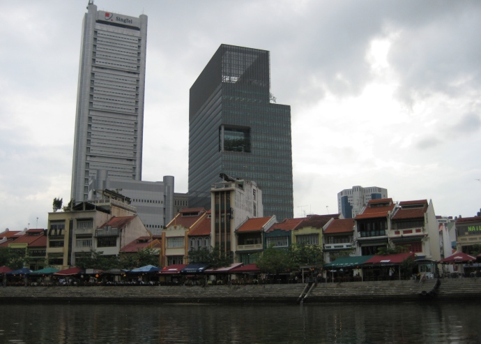 businesses surrounding Marina Bay