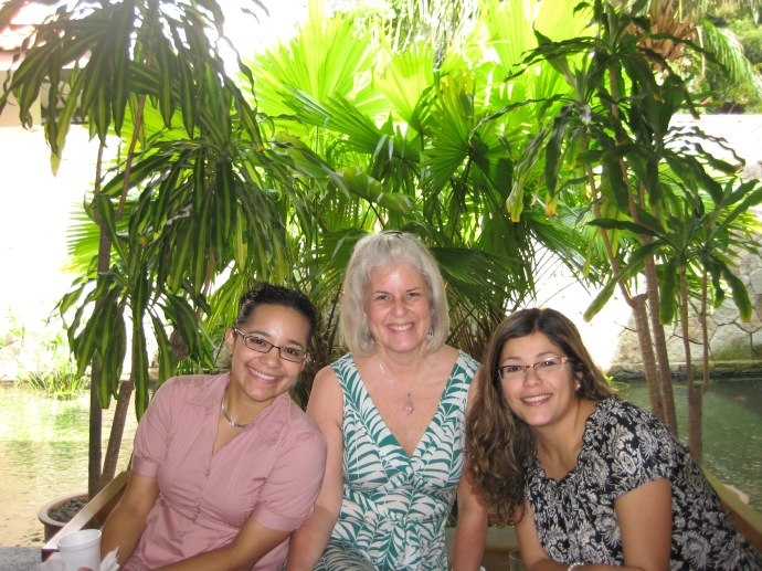 Luz, me and Johanna at ISEAS