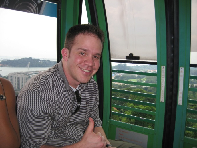 Ryan in the Cable Car