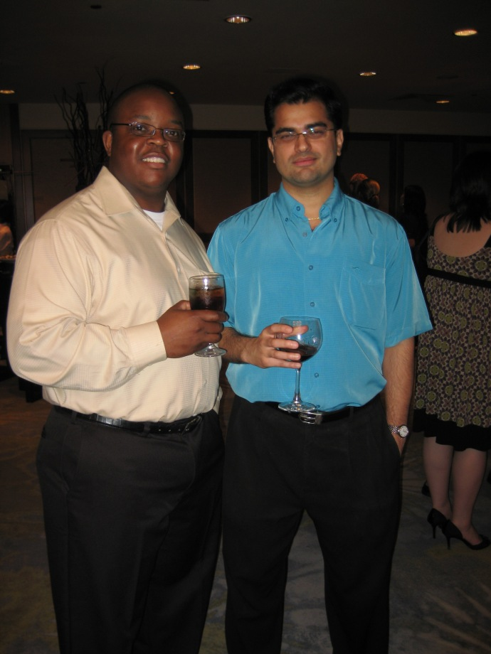Tendai and Professor Rajan