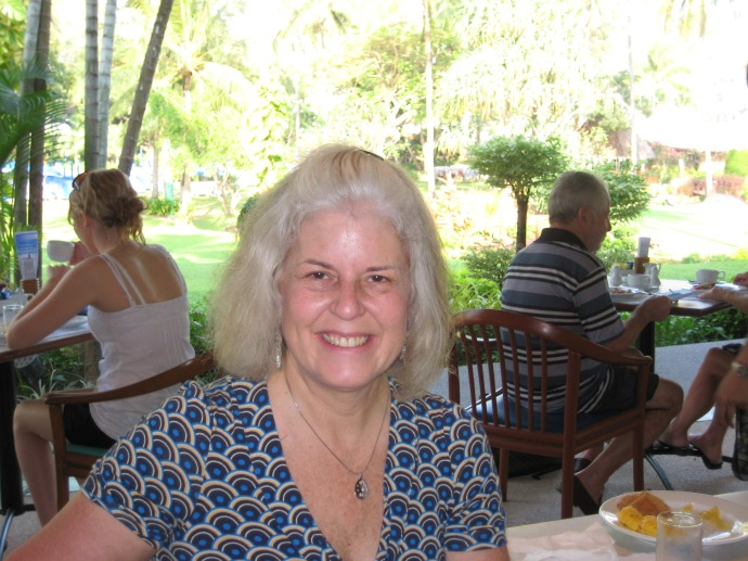 me at breakfast at Club Andaman Beach Resort