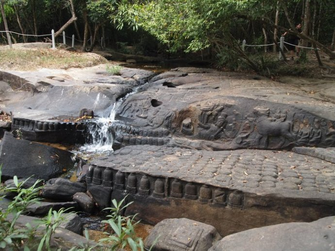 The ancient carved stones of Kbal Spean