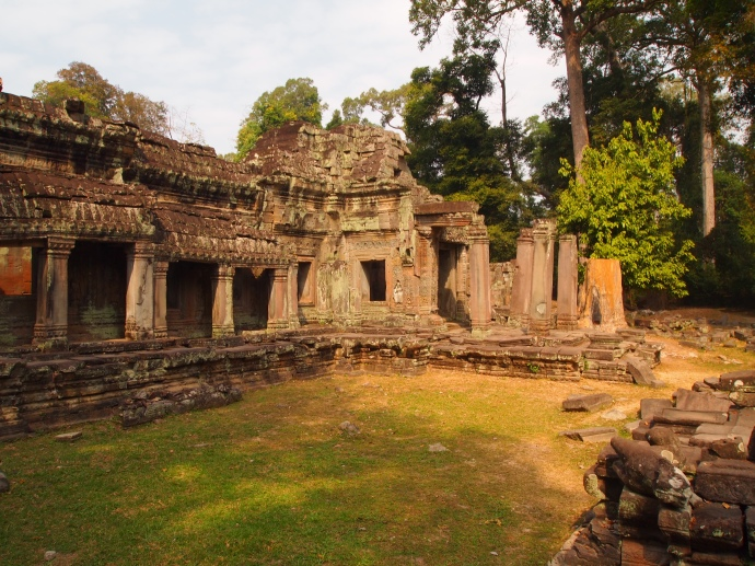 the east side of Preah Khan