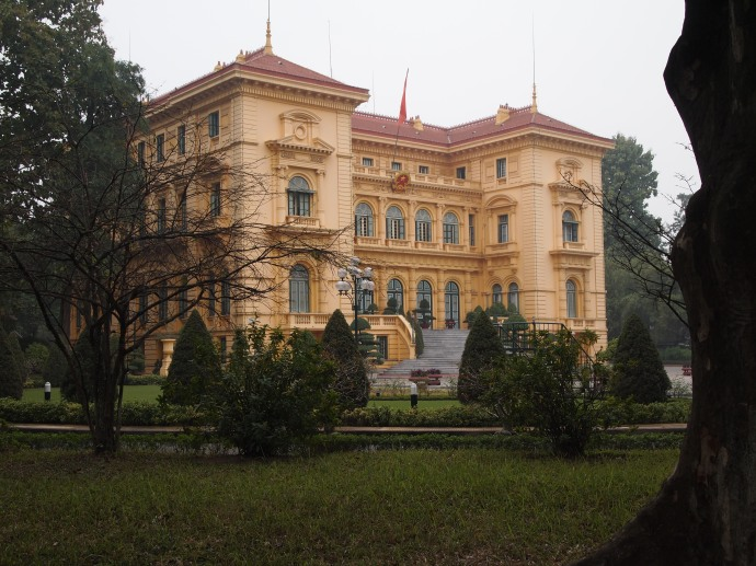 the presidential palace used mainly in french indochina