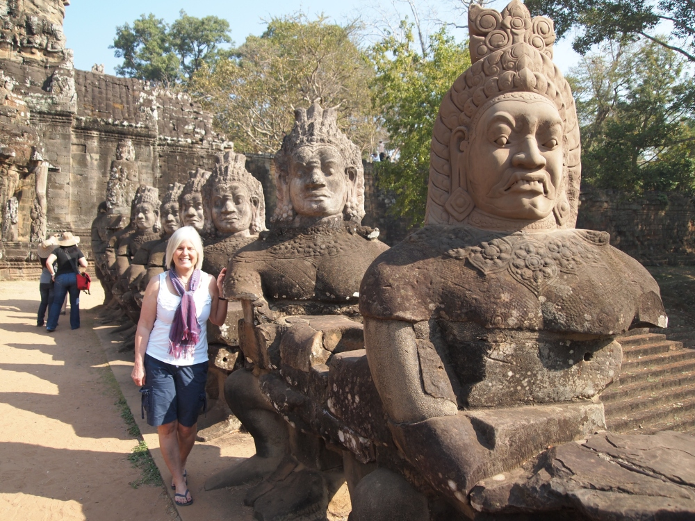 siem reap: ancient temples & cities, the world's largest 3-D jigsaw puzzle, and a little meltdown (6/6)