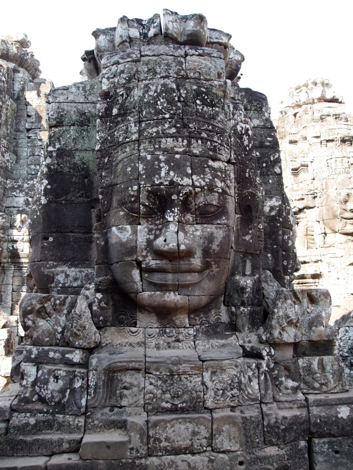 At the Bayon