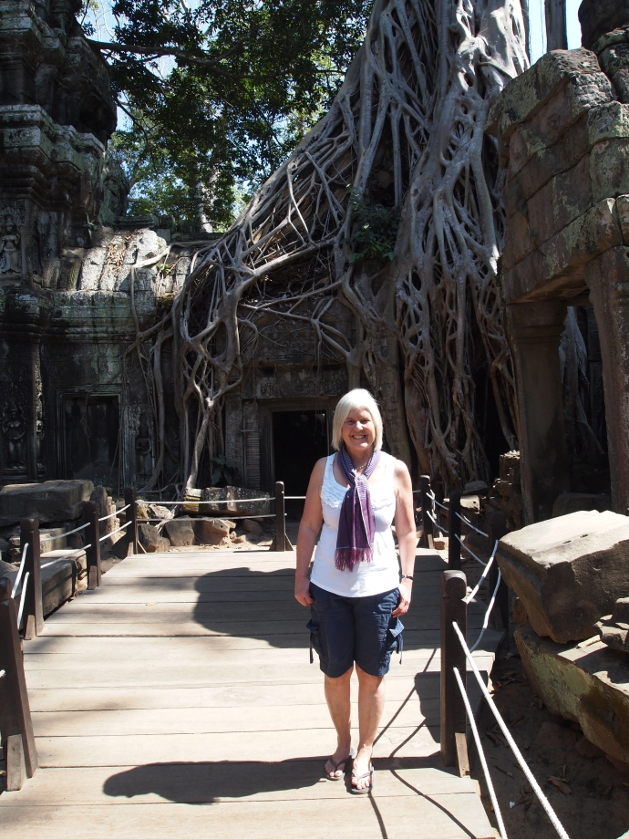 at Ta Phrom, where trees are king