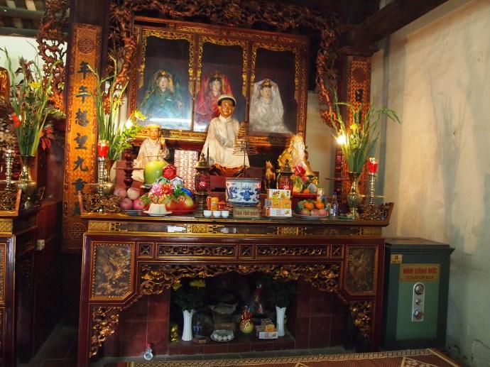 at Tran Quoc Pagoda