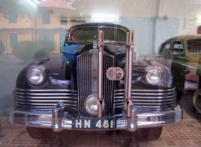 one of Ho Chi Minh's cars