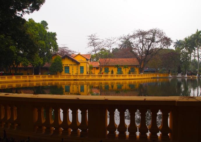 the carp pond