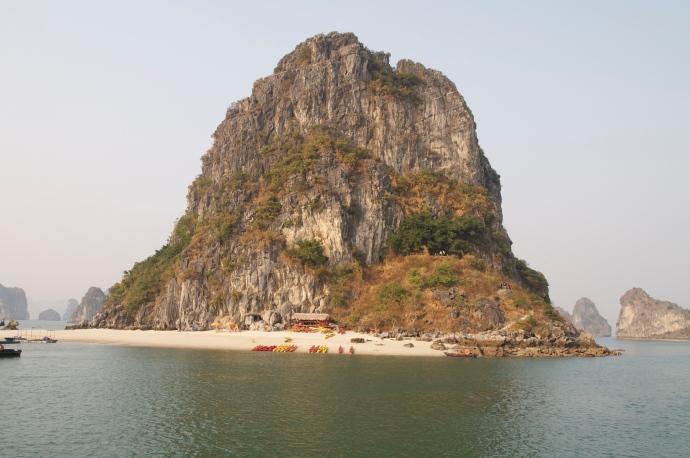 the little island where we lay anchor