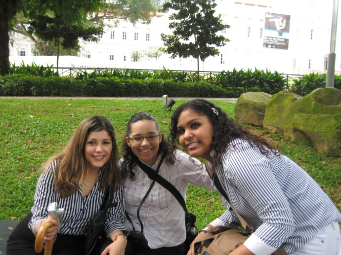 Johanna, Luz and Juliana