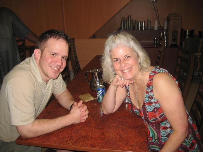 Ryan and I at Madan's