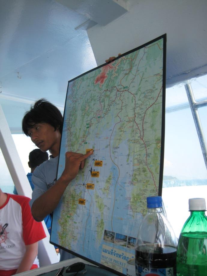 our cruise guide through Phang Nga Bay