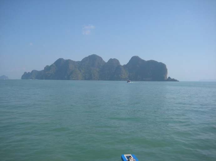 an island in Phang Nga Bay