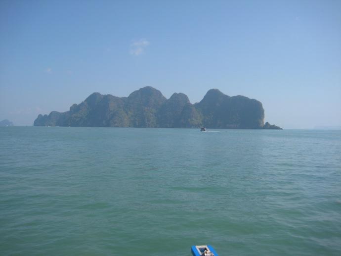 an island in Phang Nga Bay