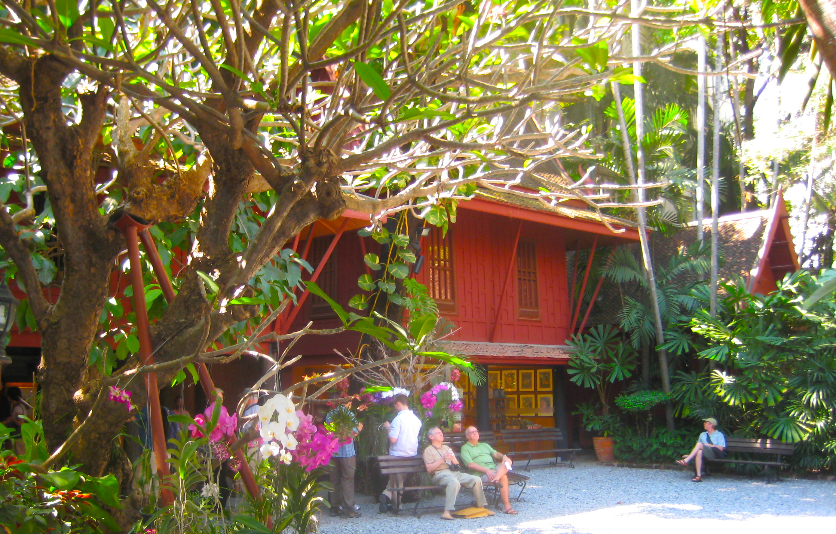 Jim Thompson House | rice paddies & papayas