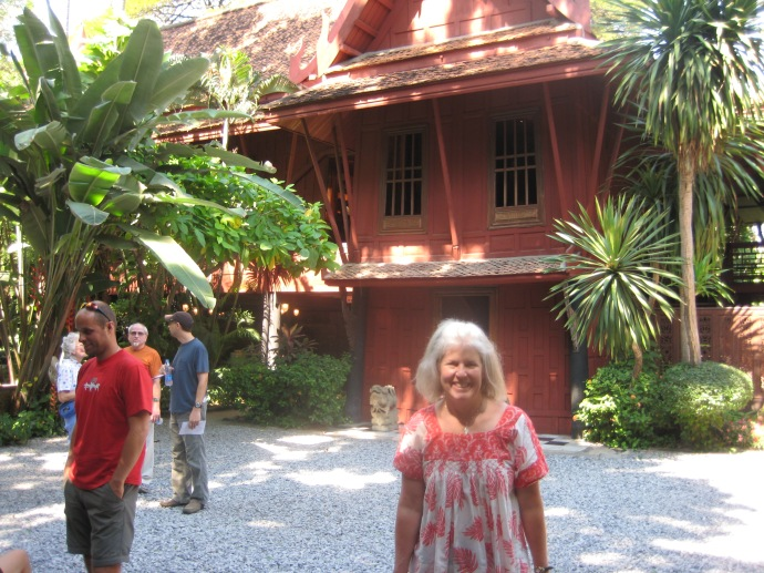 Me at Jim Thompson House