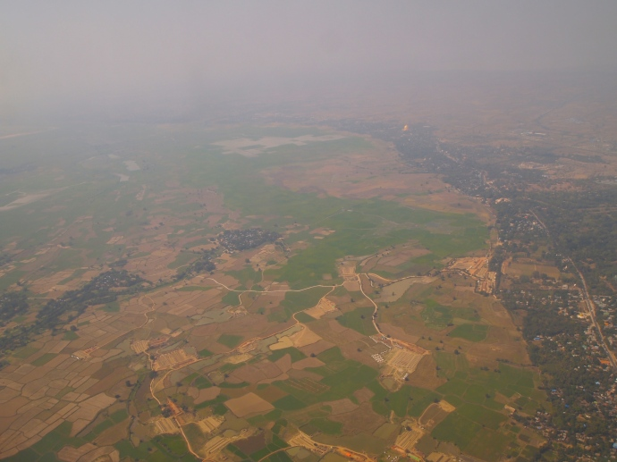 Farmland in Myanmar