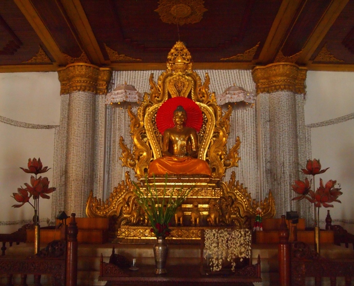 One of hundreds of Buddhas I see in Myanmar