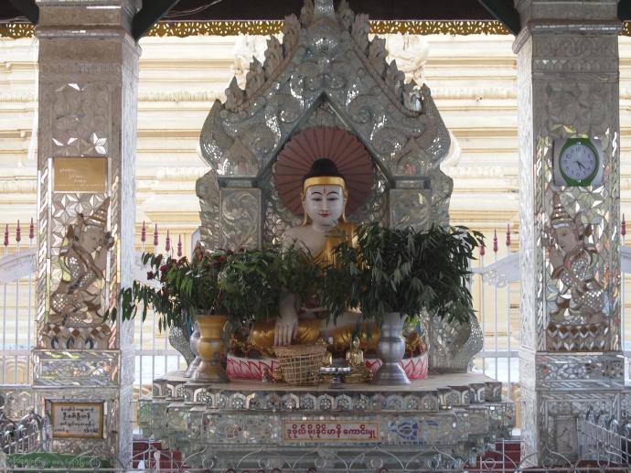 Silvery Buddha