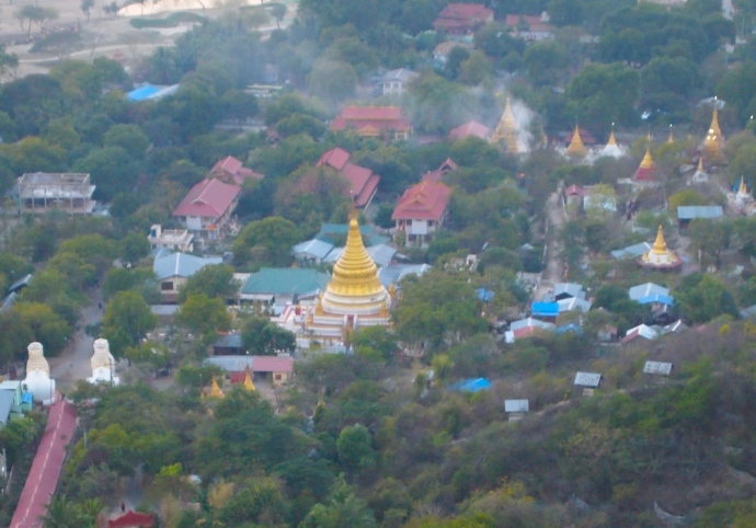 Pagoda in Mandalay