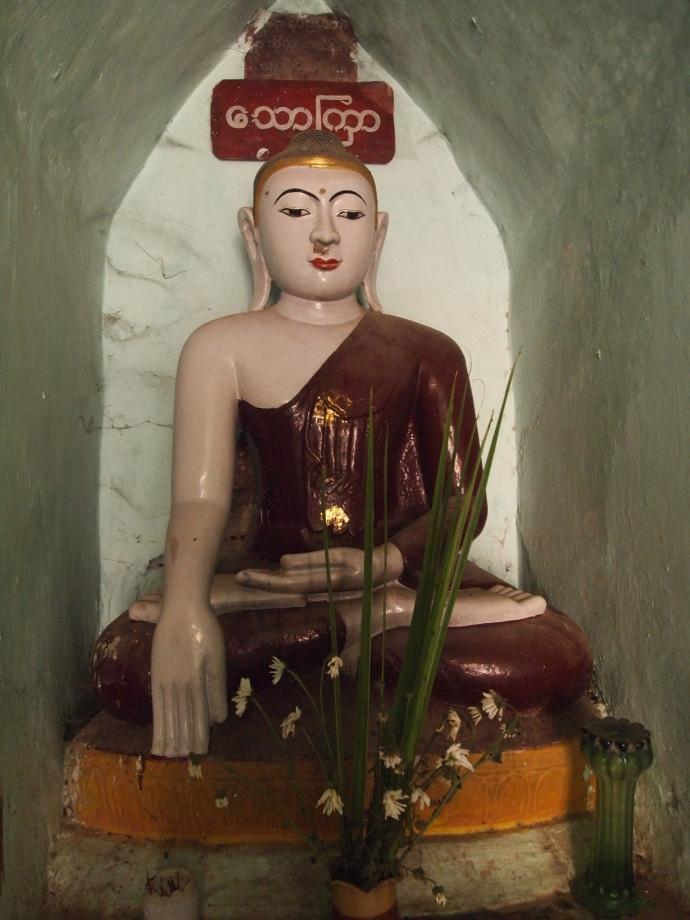 Buddha in Pagoda in Amarapura