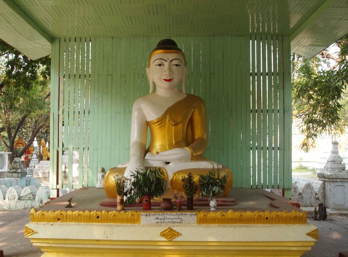An outdoor Buddha