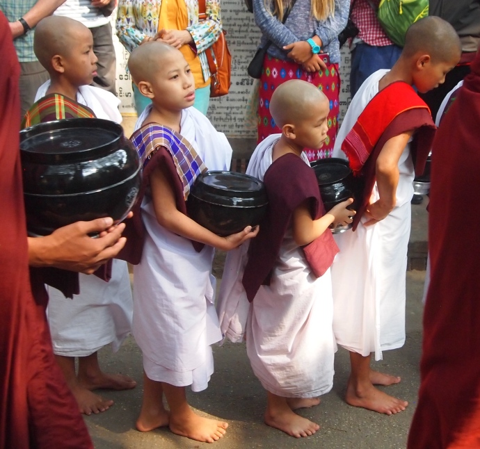 the littlest monks