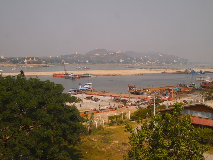 View of Sagaing