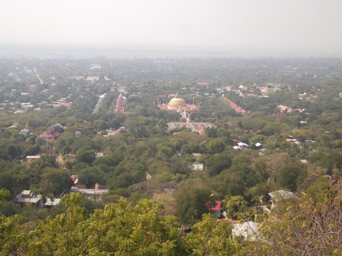 View from U Min Thone Sae Pagoda