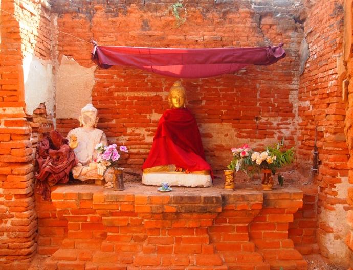 Niche at Daw Gyan Pagoda Complex