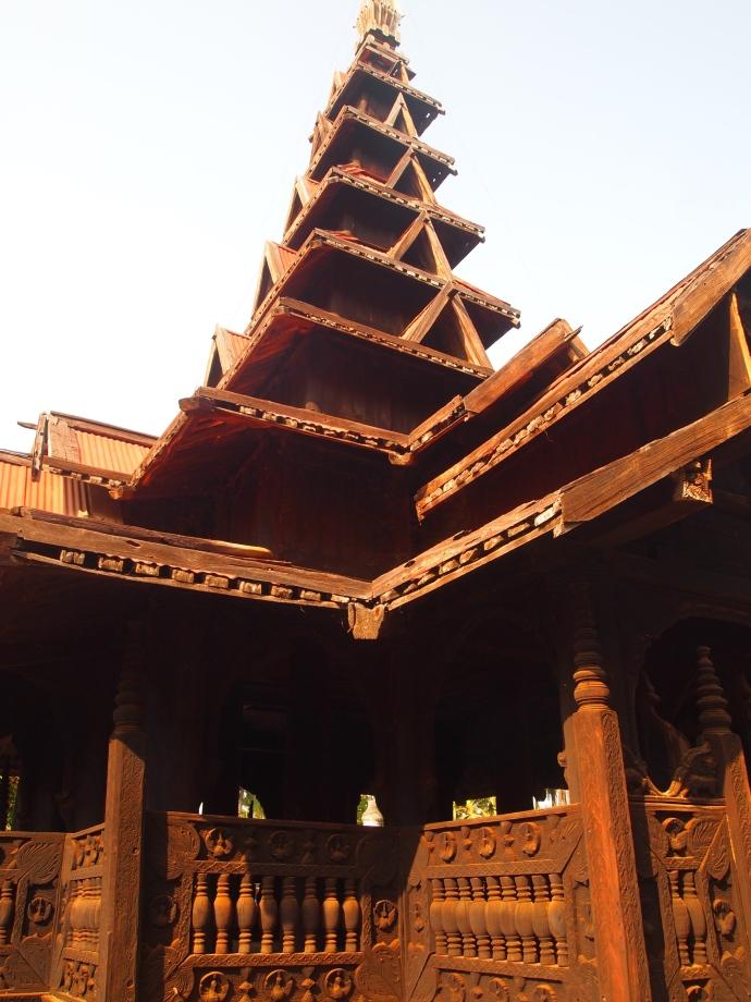 Bagaya Kyaung teak monastery