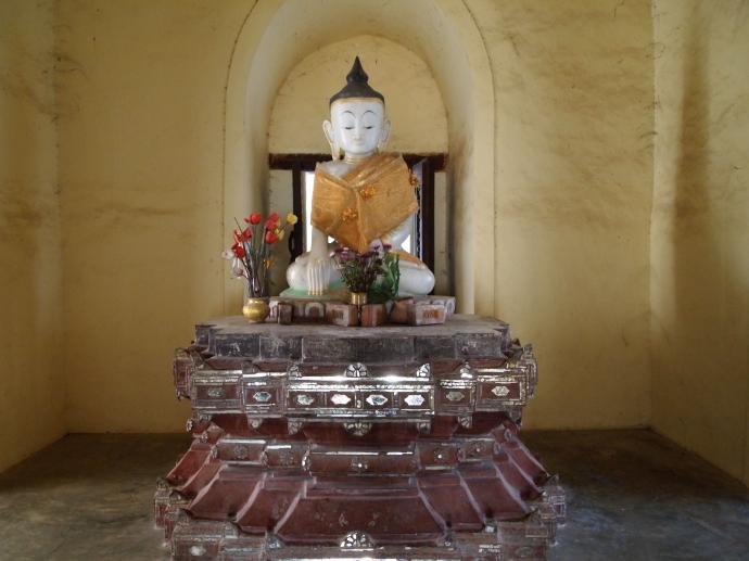 Buddha at Mahar Aung Mye Bon San Monastery