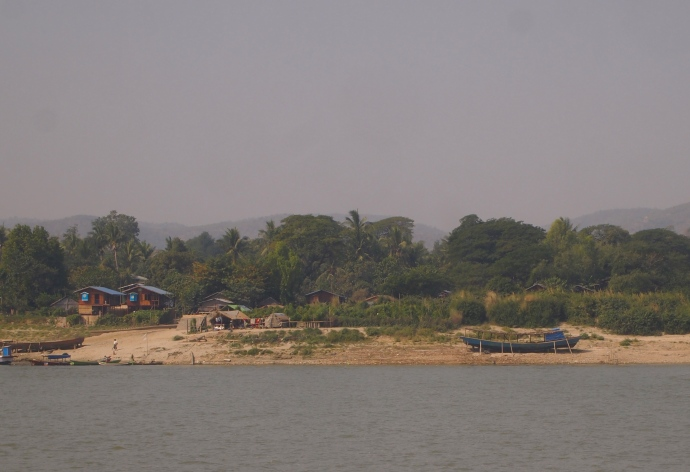 Mingun from the Ayeyarwady