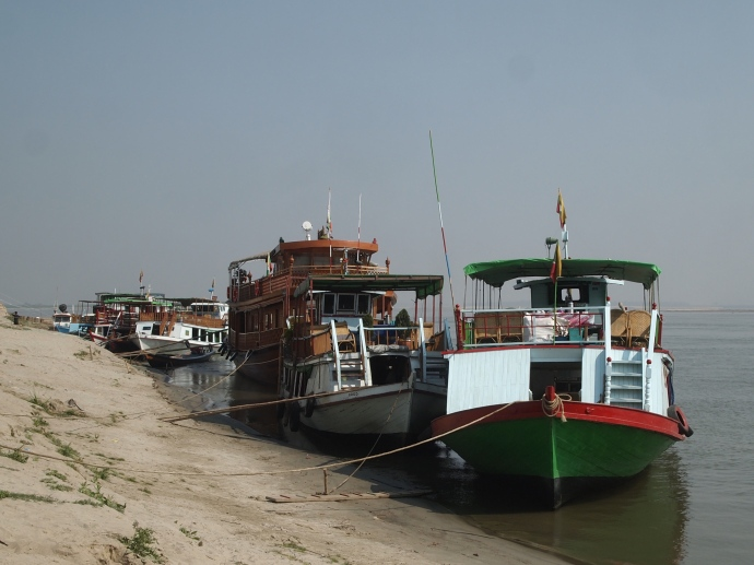 boats at the jetty